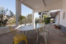 Casa Encuentro, an Oasis near Tabernas desert.