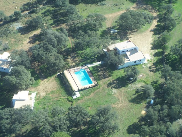 Casa rural para 10 personas - El Castillo de las Guardas - บ้าน