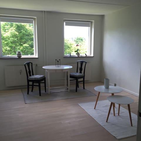 Værelse med dobbeltseng +bad&køkken - Køge - อพาร์ทเมนท์