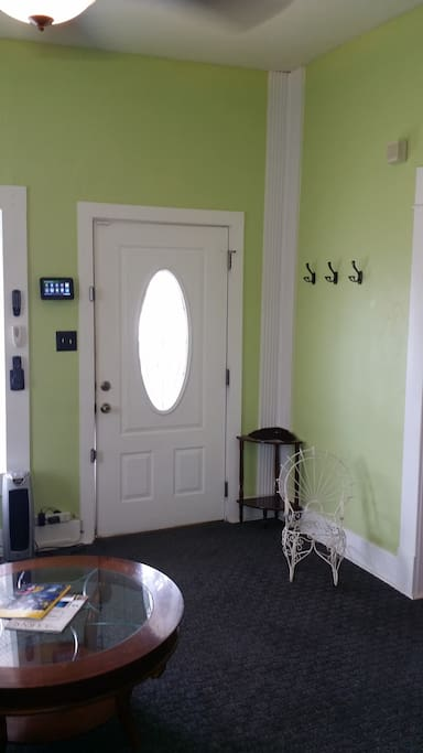 Entrance to house.