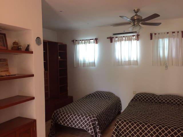 Hermosa habitación para 3 personas - Alfredo V. Bonfil