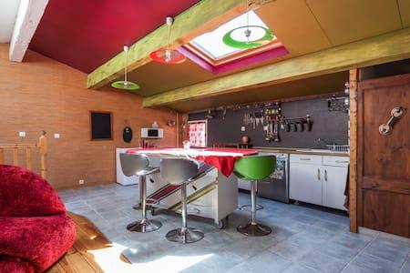 Petit loft  dans maison vigneronne - Vendémian