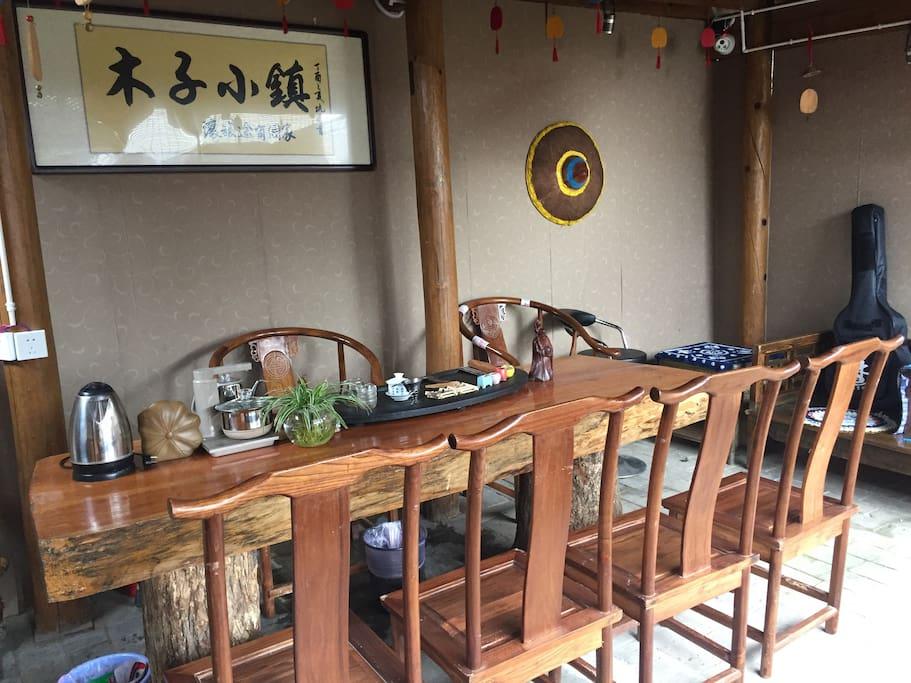二楼公共茶室