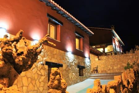 Apartamento en la Serranía con barbacoa y chimenea - Uña - Lejlighed