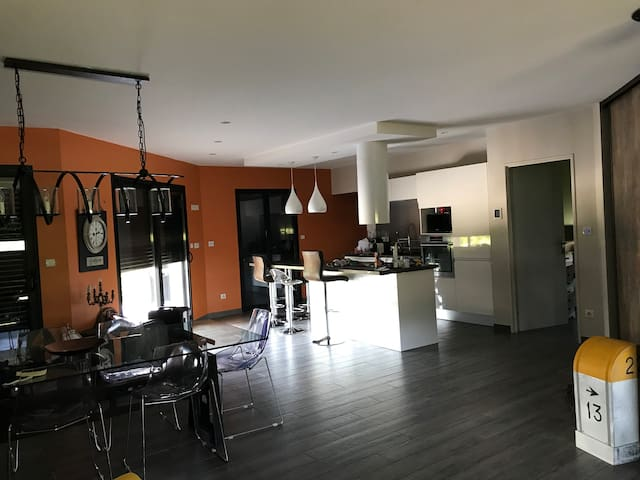 L espace cuisine