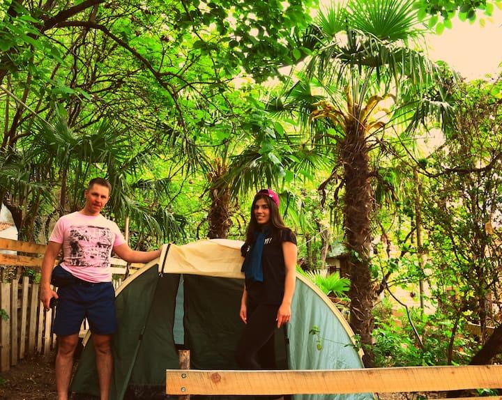 19 INN, Camping space