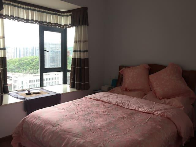 年轻人的干净欢乐之家——两个房间,三个床位,51节有优惠,欢迎咨询