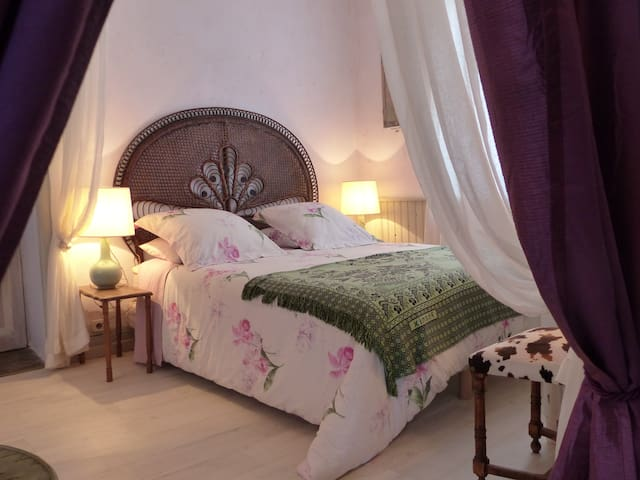 Suite familiale, coeur de la forêt (L'Alchimiste) - Saint-Bonnet-Tronçais - Bed & Breakfast