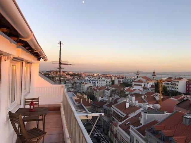 Sightseeing Loft - Lisboa - Byt