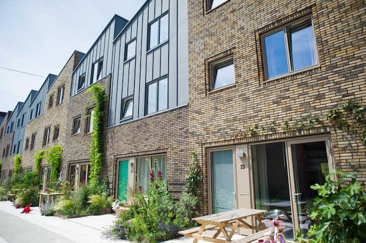 Sunny, spacious and contemporary family home.