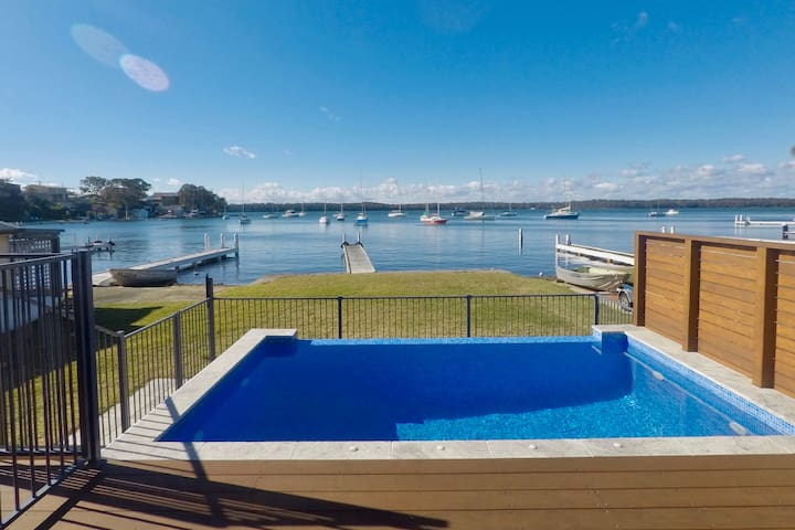 Absolute Waterfront with Private Jetty & Pool
