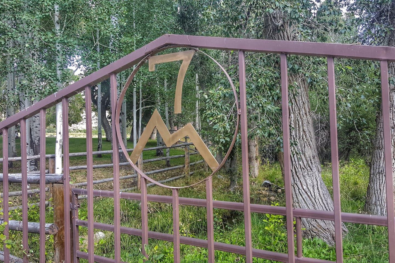 7th Canyon Ranch Main Gate