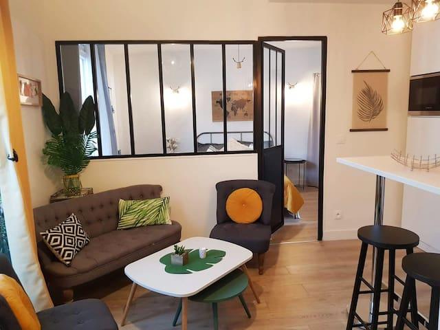 Appartement parisien à 10 minutes de Sacré-Coeur