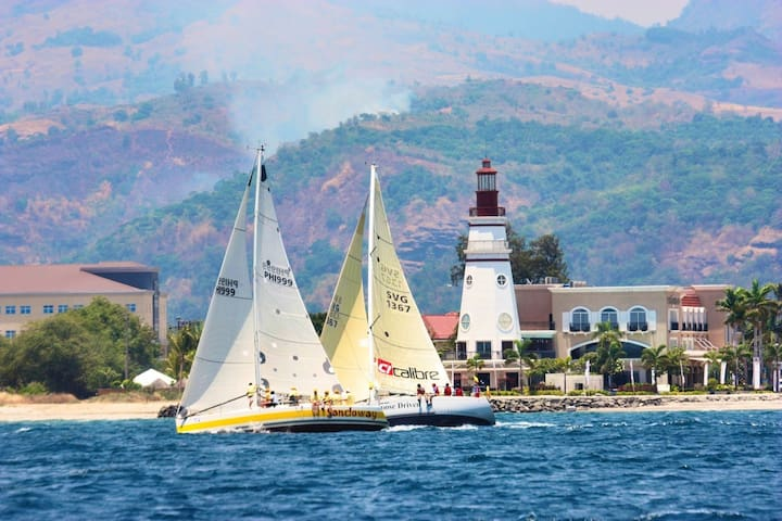 Sailing in Subic Bay