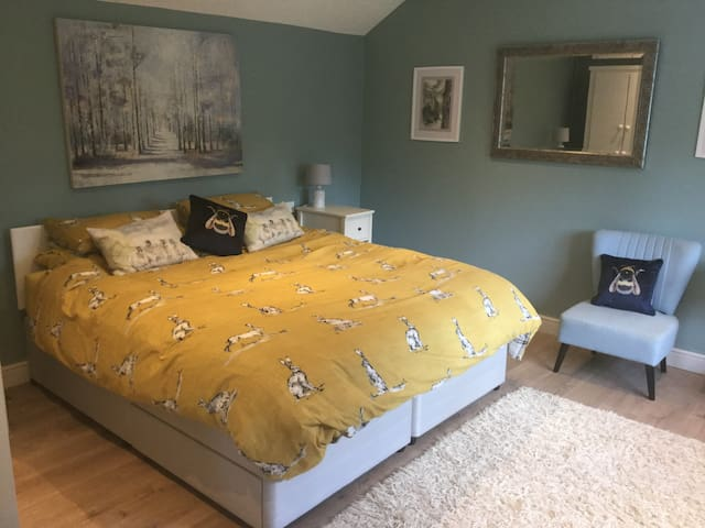 Bedroom with Superking Bed