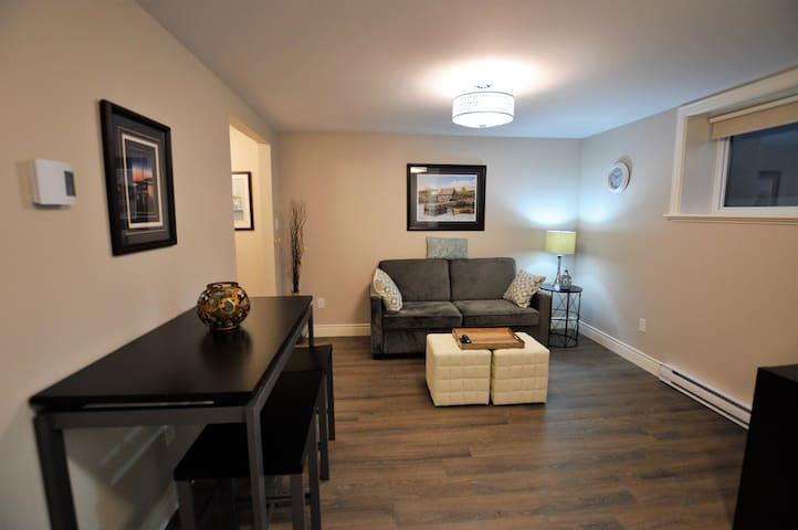 Main Living Area with Sleeper Sofa