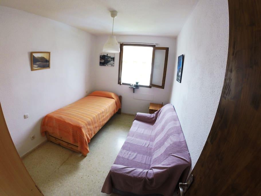 Entrada a habitacion individual