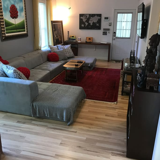 Living Room: Plenty of space for you and your family