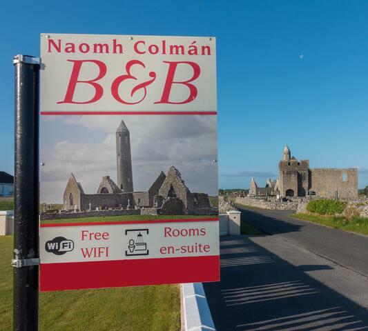 Naomh Colman B&B, Kilmacduagh 4 - Gort - Inap sarapan