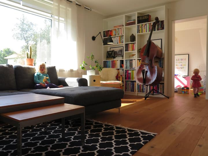 Spacious family apartment near city center