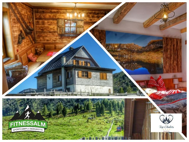 Dream Chalet Austria 1875m - Outdoorsauna and Gym - Falkertsee - Talo
