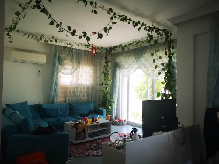 Fethiye Center, Private room in house with garden