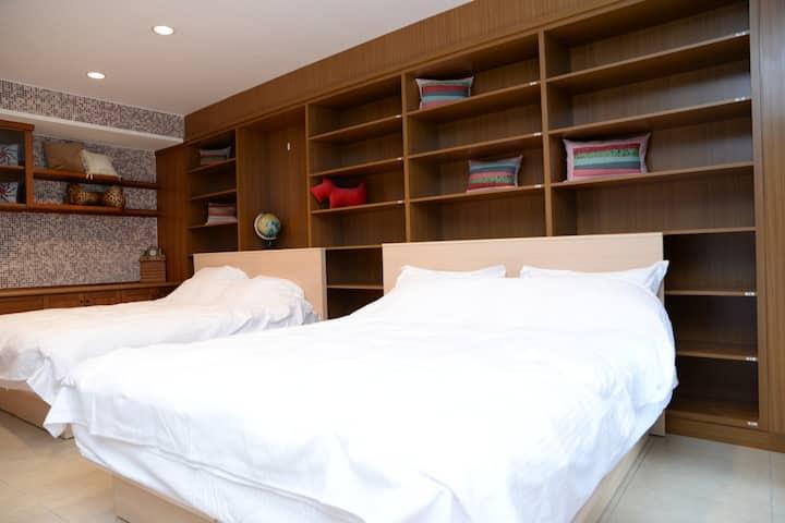 二姐的家 房型:標準四人房