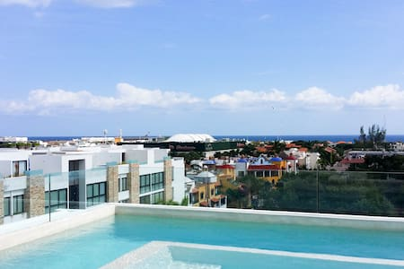 Wonderful penthouse downtown, ocean view. - Playa del Carmen