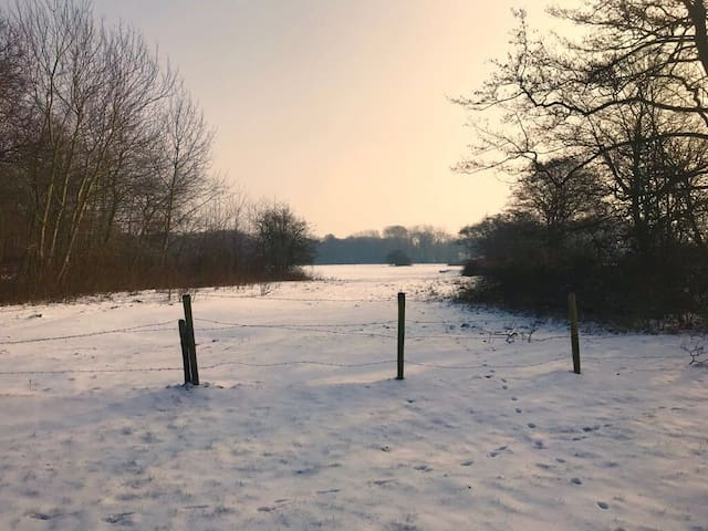 Ook in de winter is het prachtig.