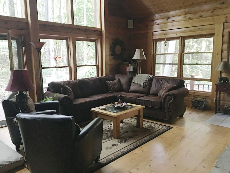 great room living area