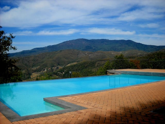 Quiet Country House in Tuscany (Italy - Anghiari) - Anghiari - House