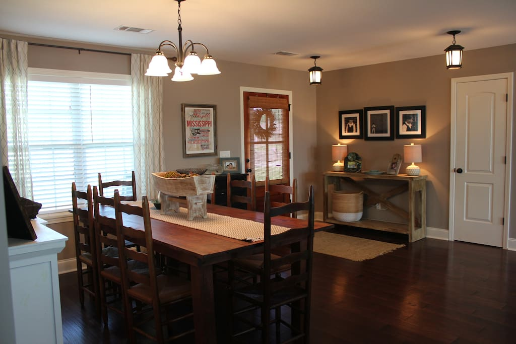 Dining Area - opens to living area
