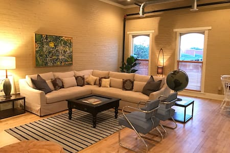 Spacious Downtown Kalamazoo Loft
