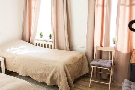 Уютный двухместный номер Twin возле м. Бауманская - Moskva - Vandrerhjem