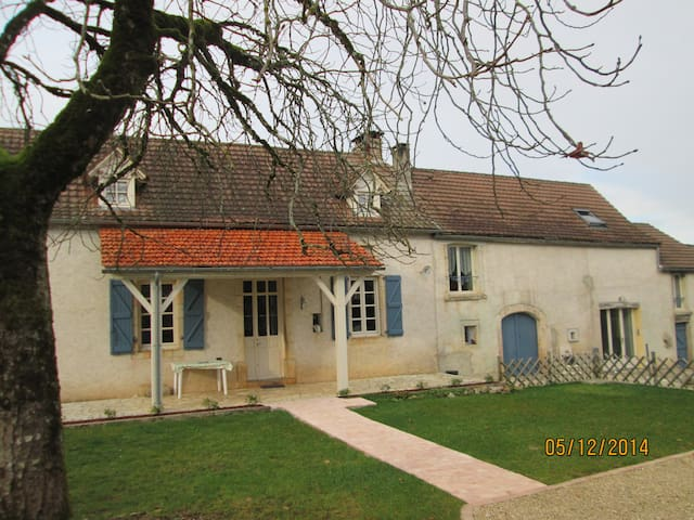 La maison bleue chambre privée - Limogne-en-Quercy - Jiné