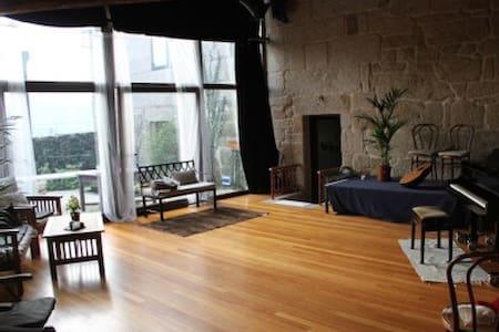 Casa de aldea ideal para músicos. Rural - Pontecaldelas