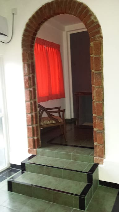 Entrance to bedroom