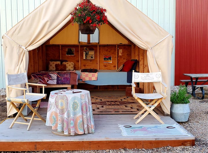 Sweet Pepper Ranch Glamping Tent