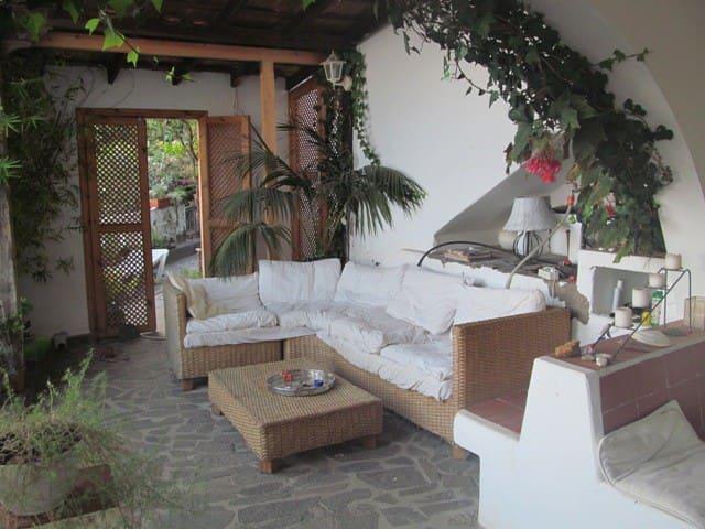 Wohnung mit Garten und Meerblick - Valle Gran Rey - Apartamento
