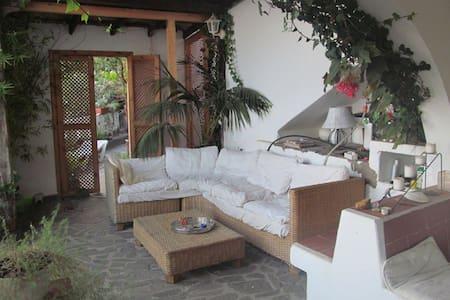 Wohnung mit Garten und Meerblick - Valle Gran Rey