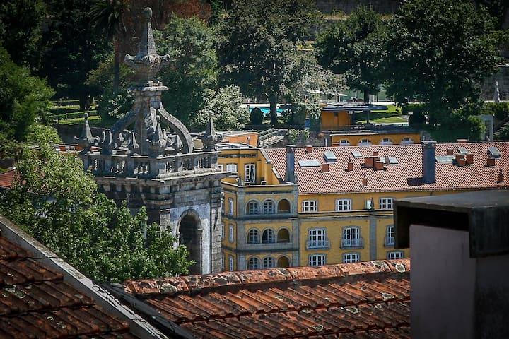 Conforto no centro histórico - Amarante - 아파트