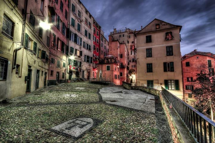 "Historical Centre of Genoa, Liguria, Italy"" CP12"