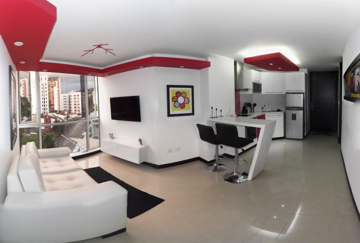 Apartamento Platinum II / Furnished Apartment - Pereira - Byt