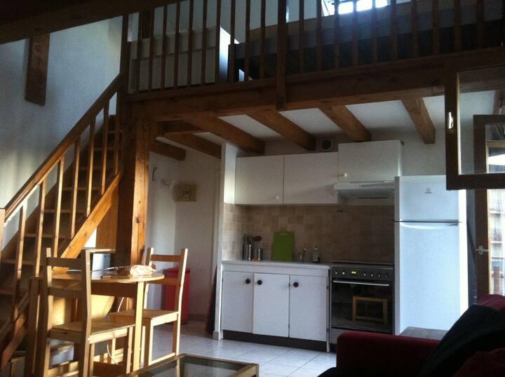 Coquet studio duplex Annecy-centre