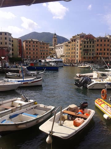 Cozy apartment 2 minutes walk from the sea - Camogli - Casa
