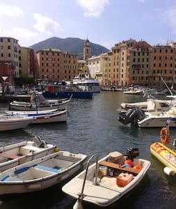 Cozy apartment 2 minutes walk from the sea - Camogli - 獨棟