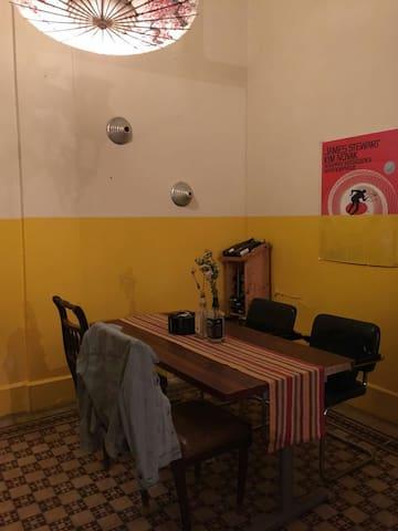 Room in a fun Lebanese house !