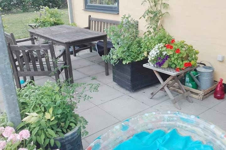 3 bedroom apartment with garden in Åbyhøj, Aarhus