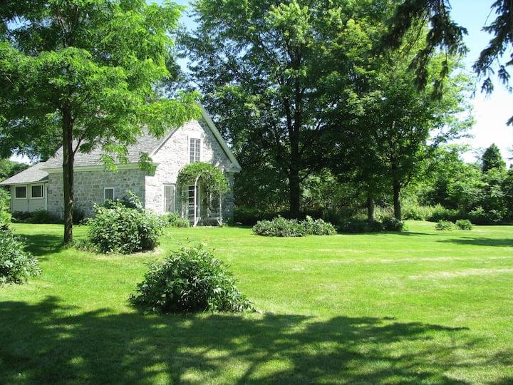 Fisk Farm on Lake Champlain:Stone Cottage