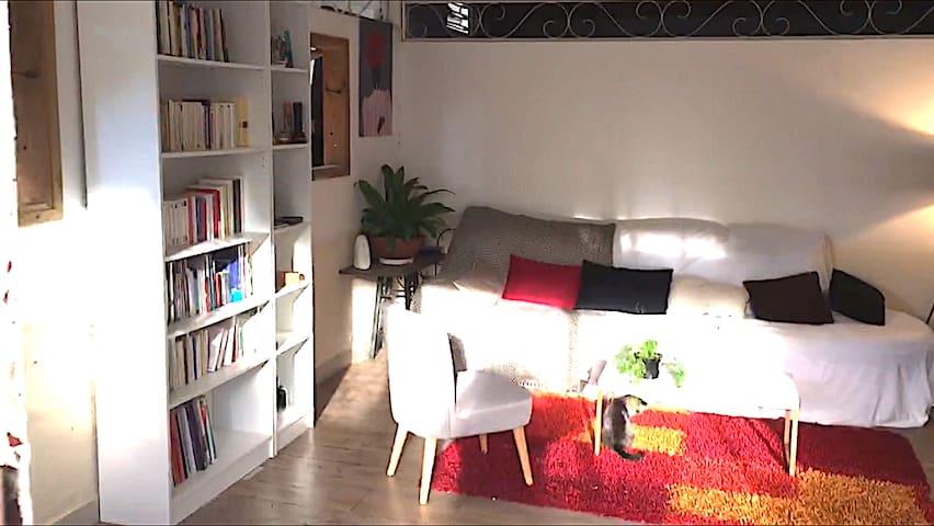 Jolie chambre dans maison spacieuse